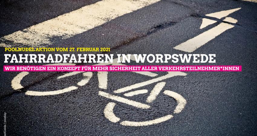 Fahrradstreifen Worpswede Die Grünen