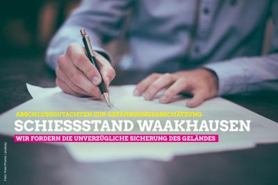 bschlussgutachten zur Gefährdungsabschätzung zum Schießstand Waakhausen