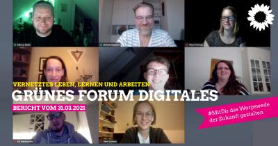 Grünes Forum Digitales Worpswede vom 31. März 2021