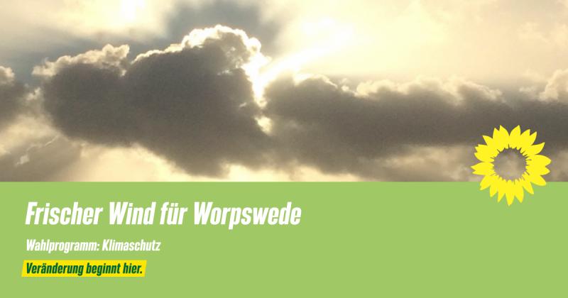 Wahlprogramm Worpswede Klimaschutz