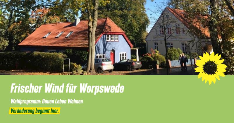 Wahlprogramm Worpswede Bauen Leben Wohnen