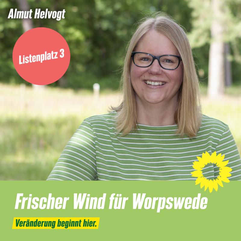 Listenplatz 3 Almut Helvogt
