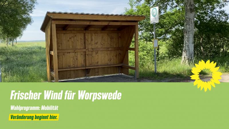 Wahlprogramm Worpswede Mobilität