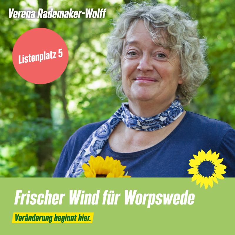 Listenplatz 5 Verena Rademaker-Wolff