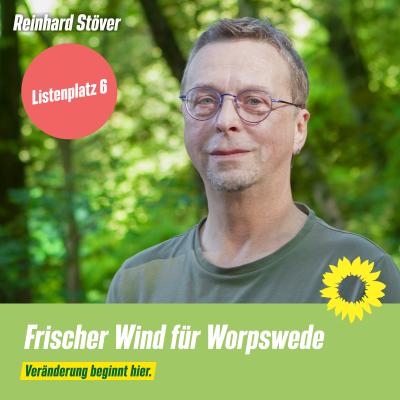 Listenplatz 6 Reinhard Stöver