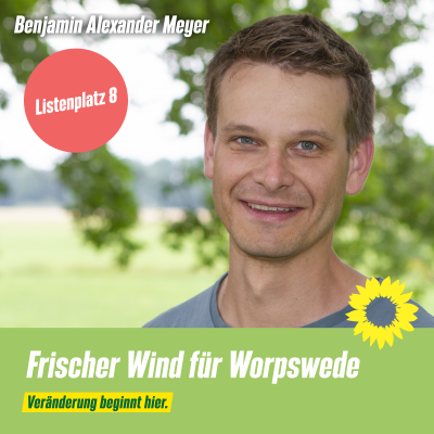 Listenplatz 8 Benjamin Alexander Meyer