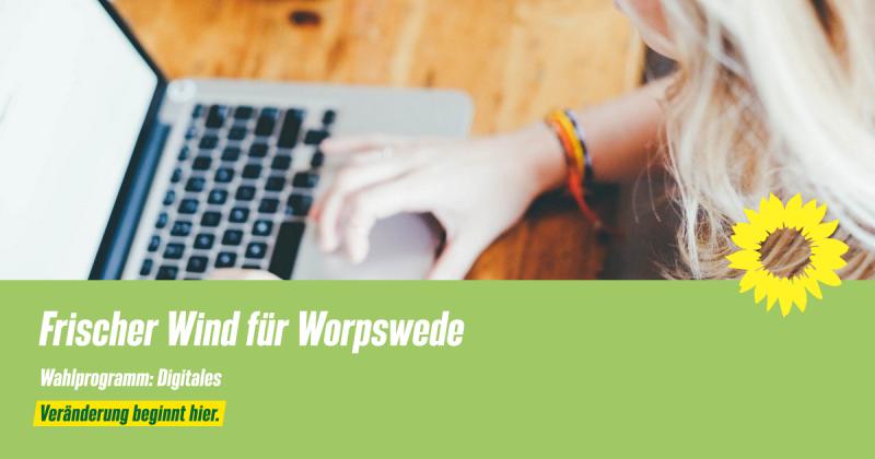 Wahlprogramm Worpswede Digitales