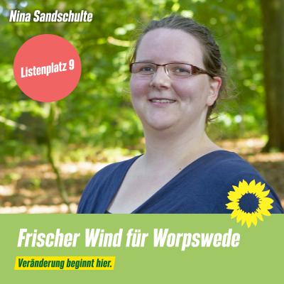 Listenplatz 9 Nina Sandschulte