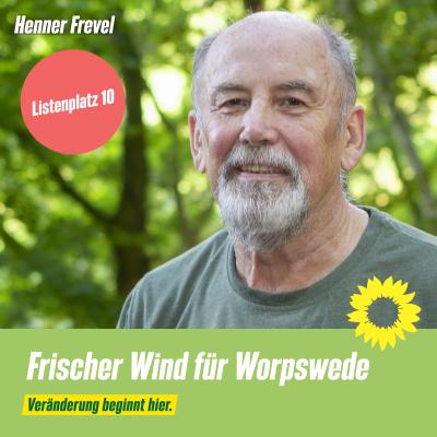 Listenplatz 10 Henner Frevel