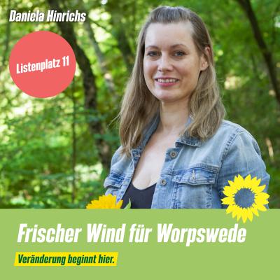 Listenplatz 11 Daniela Hinrichs