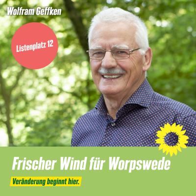 Listenplatz 12 Wolfram Geffken