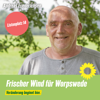 Listenplatz 14 Andreas Friederichsen