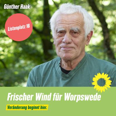 Listenplatz 16 Günther Haak