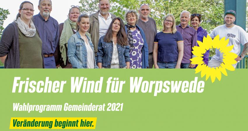 Wahlprogramm Die Grünen Worpswede