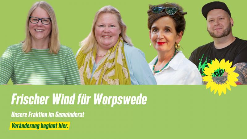 Grüne Fraktion im Gemeinderat Worpswede